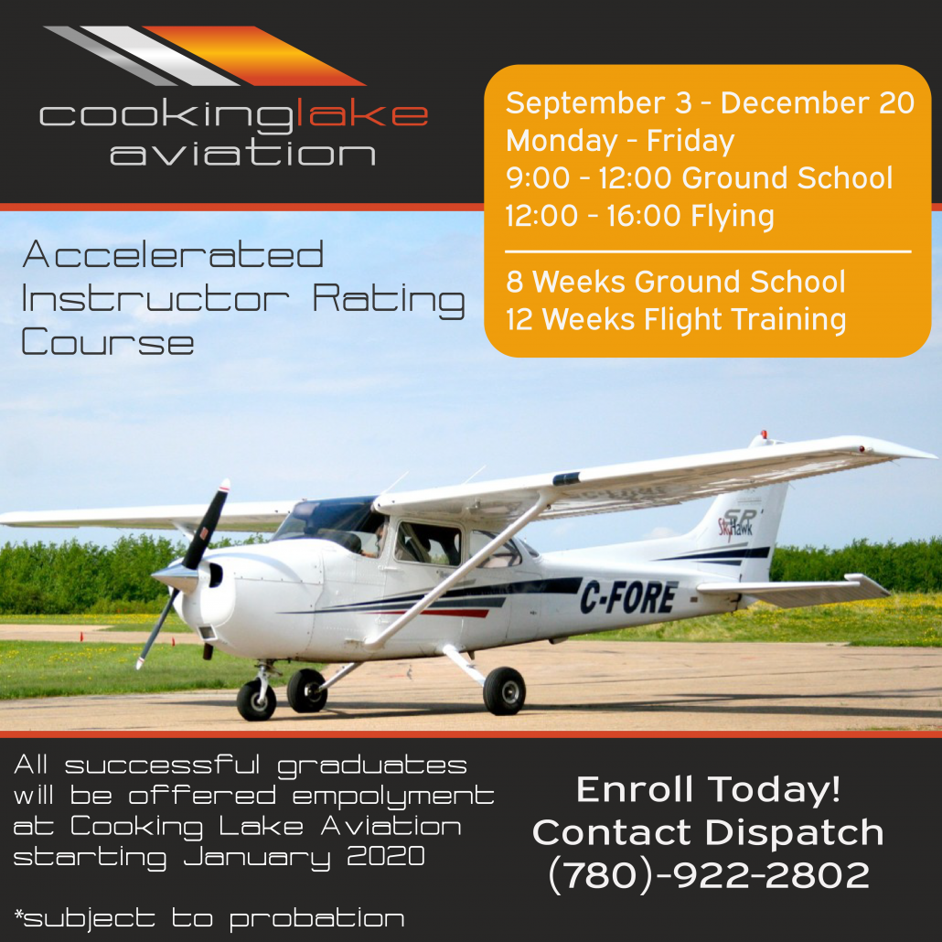 Flight Instructor Course Edmonton