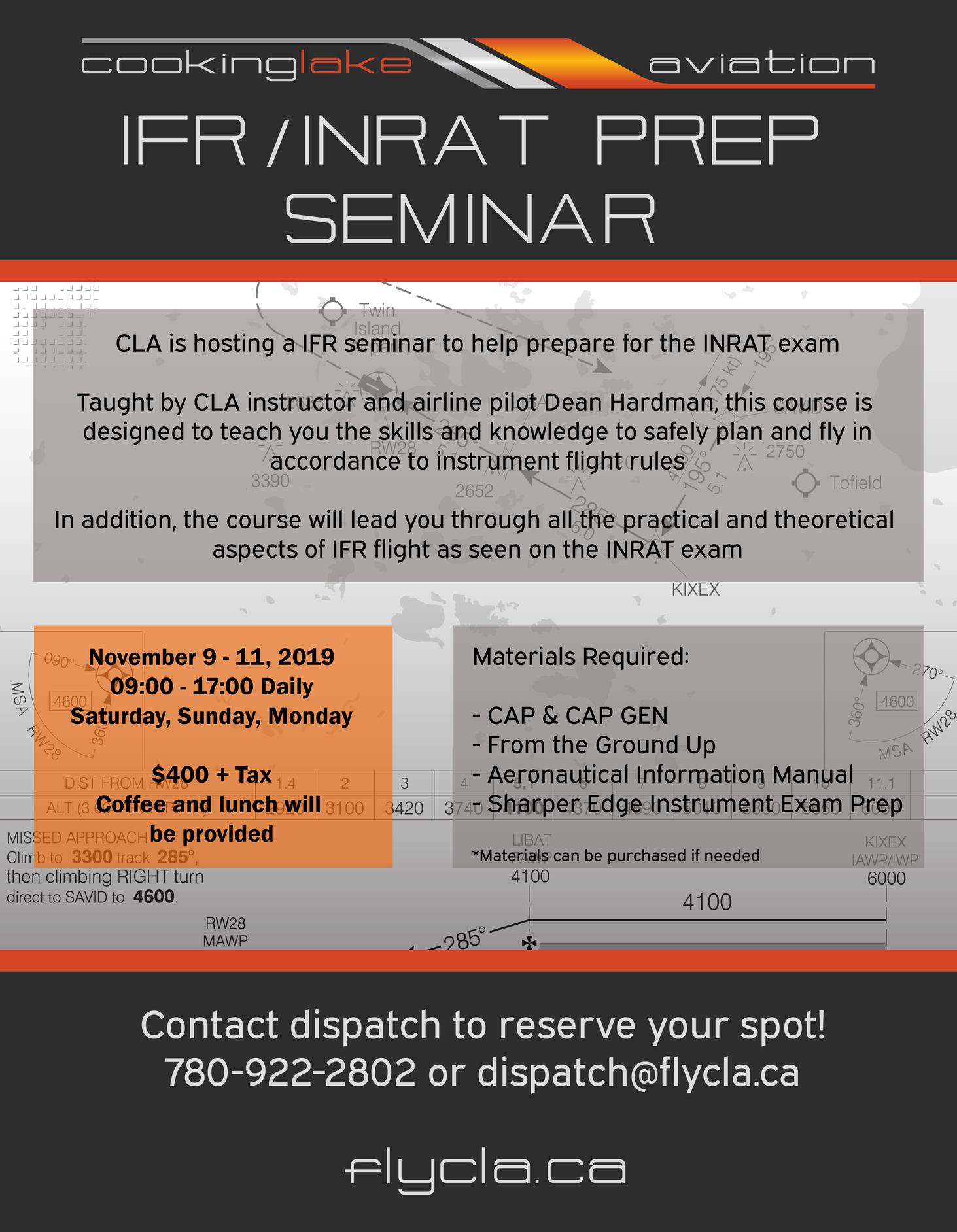 Edmonton IFR Seminar