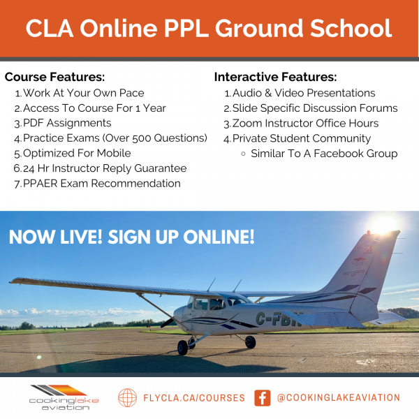 Online Private Pilot Groundschool Canada